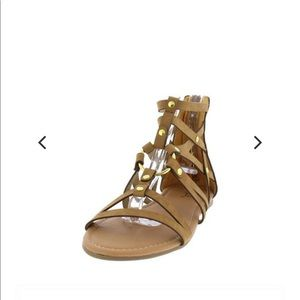 Qupid gladiator sandals